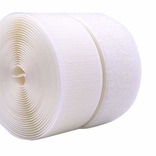 TEXACRO® by Velcro® Brand Companies Hook and Loop Sew On Tape White