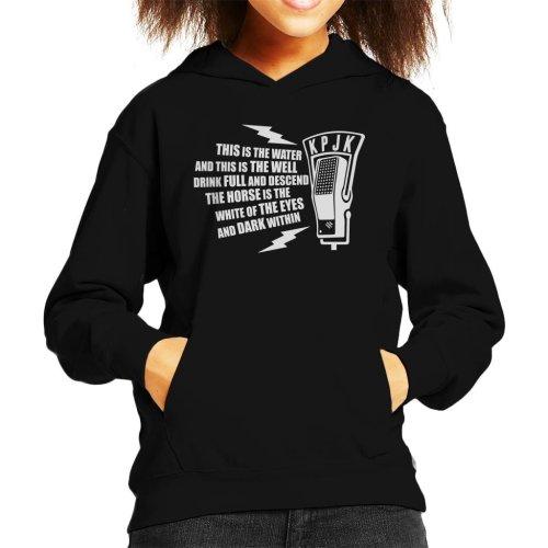 This is The Water Quote Twin Peaks Kid's Hooded Sweatshirt