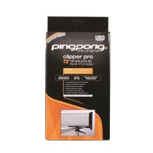 Ping Pong Clipper Pro Net & Post Set
