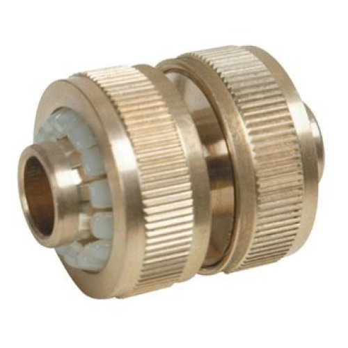 "Silverline Hose Joiner Brass 1/2"" - 12 633535 -  hose brass joiner silverline 12 633535"