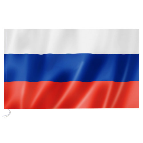Large Russian National Flag 90 x 150cm Hanging Banner