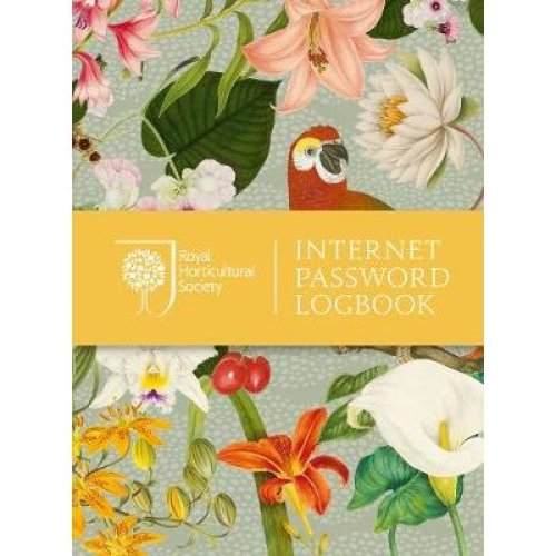 Royal Horticultural Society Internet Password Logbook