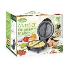 NutriQ Omelette Maker Marble Coated Non Stick Auto Lock Thermostatically Control