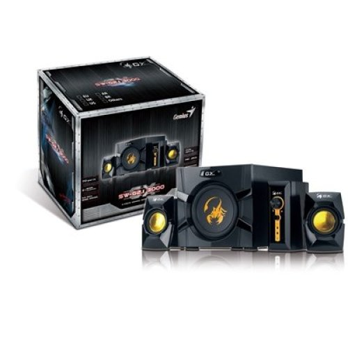 Genius GX Gaming SW-G2.1 3000 70W 2.1 Channel Gaming Speaker System 31731016104