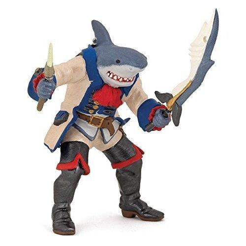 """Papo 39460 """"Shark Mutant Pirate"""" Figure"""