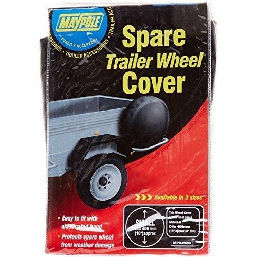 "8"" Trailer Wheel Tyre Cover - 8 Spare Maypole Diameter Wheels Inch Dp 94708 -  trailer wheel cover 8 spare maypole diameter wheels inch dp 94708"