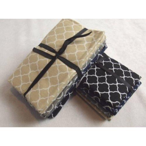Fat Quarter Bundle - 100% Cotton - Trends Dark - Pack of 5