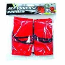 Franklin Sports All Purpose Pinnies (Pack of 6, Red)