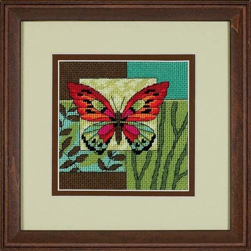 D07222 - Dimensions Mini Needlepoint - Butterfly Impression