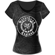 60a3a7f3 Rockoff Trade Men's Eddie Hook T-shirt, Black, Large - iron maiden t ...