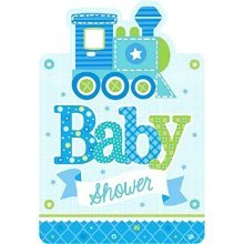 Welcome Baby Boy Postcard Invitations - /8