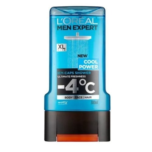 L'Oreal Men Expert Cool Power Shower Gel 300ml