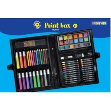 86 Piece Paint Box Craft Set - Play Parts -  playbox paint 86 parts