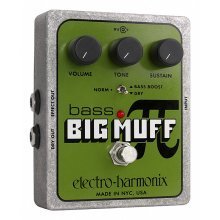 Electro Harmonix Bass Big Muff Pi Effects Pedal