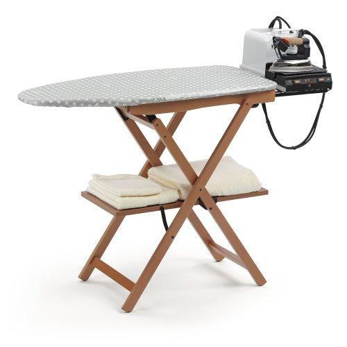 Arredamenti Italia AR_IT- 622 ASTIR ironing board station finishing cherry wood.