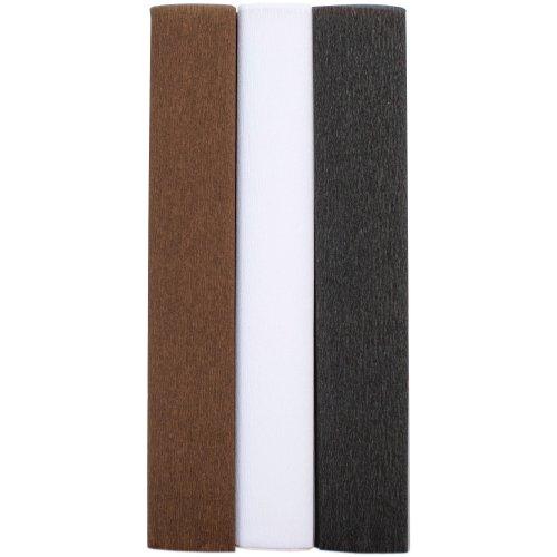 Extra Fine Crepe Paper 3/Pkg-Basic