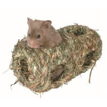 Trixie Double Grass Nest House For Hamsters, 19 x 10cm Diameter - Rodents -  nest trixie grass rodents various sizes new braided natural herbs rabbit