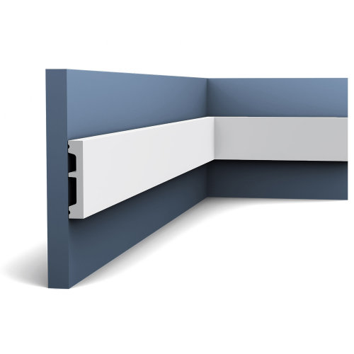Orac Decor DX157F AXXENT Flexible Door Frame Skirting Panel Moulding 2.0 m