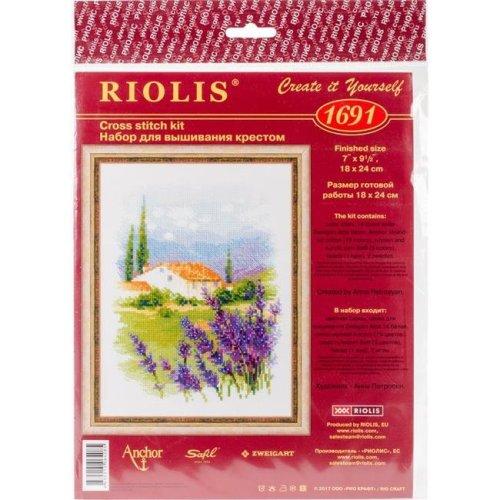 Riolis R1691 Farm in Provence Counted Cross Stitch