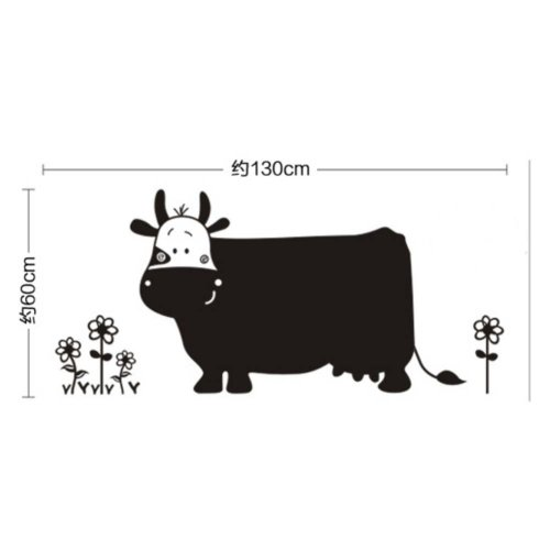 Cow Wall Chalkboard Blackboard For Kids Blackboard Wall Sticker