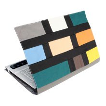 Stylish Canvas Laptop Sleeve Computer Bag Laptop Case Cover