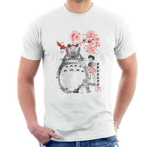 My Neighbour Totoro Sumie Men's T-Shirt