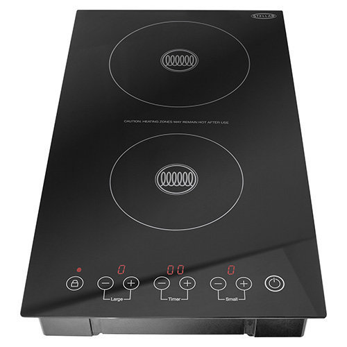 Stellar Dual Zone Double Induction Hob