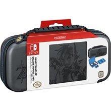 Nintendo Switch Game Traveler Deluxe Travel Case- Zelda Breath of the Wild – Link – Grey