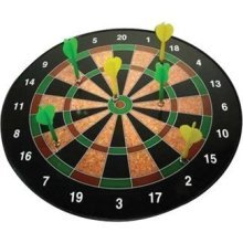 Westminster 2486 16 In. Magnetic Dartboard - Funtime Gifts -  magnetic dartboard funtime gifts