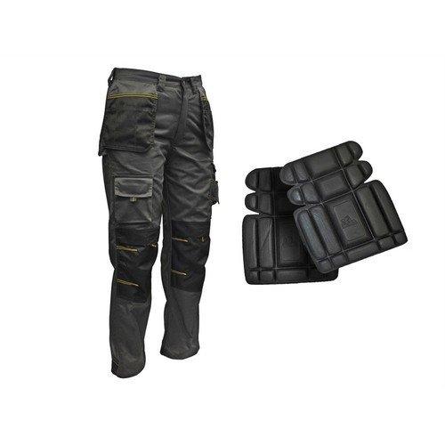 Roughneck Clothing RNKTROU32AV Holster Work Trouser & Knee Pads 32in