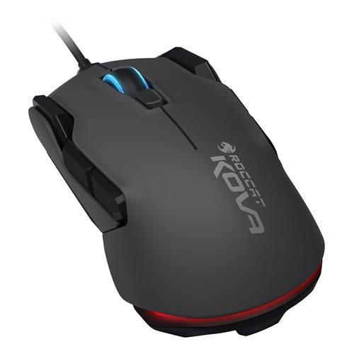 Roccat Kova Pure Performance 7000DPI Optical Gaming Mouse - 1.8m - Black (ROC-11-502)