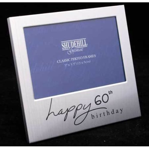 Happy 65th Birthday 5 x 3 photo Frame by Shudehill giftware