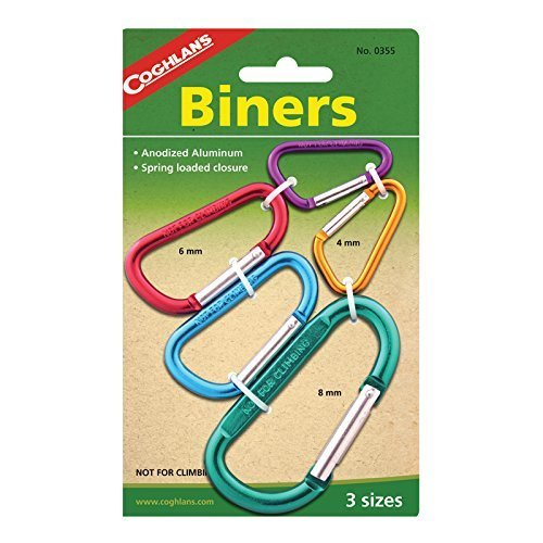 Coghlans Biners, 2 Pack, 5 mm