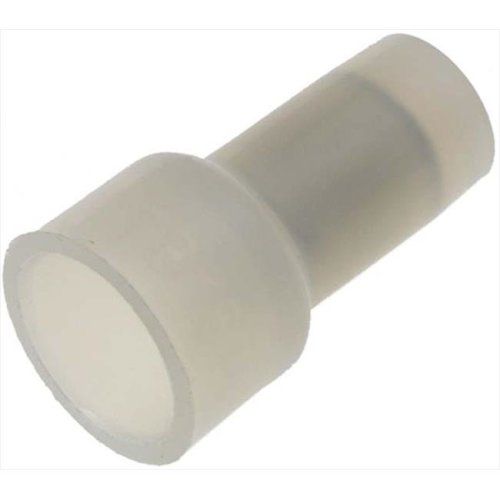 85491 18 10 Gauge Closed End Connector, Clear