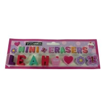 Childrens Mini Erasers - Leah