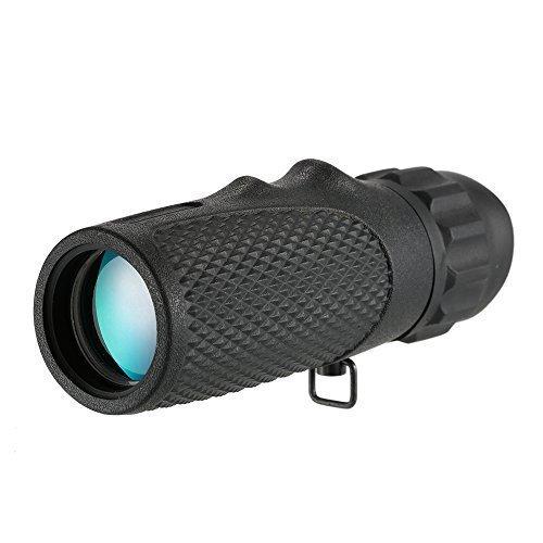 Lixada 10x25 Monocular Mini Compact Monocular Telescope High Definition Pocket Scope