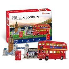 Tour In London 3D Jigsaw Puzzle Scale Model DIY Toy  Monument England