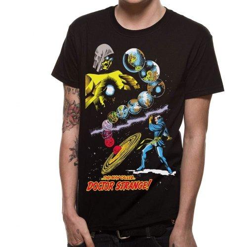 Unisex T-shirt Black Marvel Comics Man Called Dr Strange