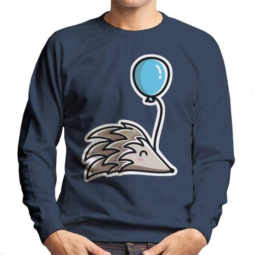 Hedgehog With A Balloon Men's Sweatshirt
