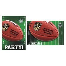 NFL Invitation and Thank You Cards - Accessories 481214