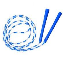 Fitness Training  Lightweight Easily Adjustable Jump Rope,Blue&White