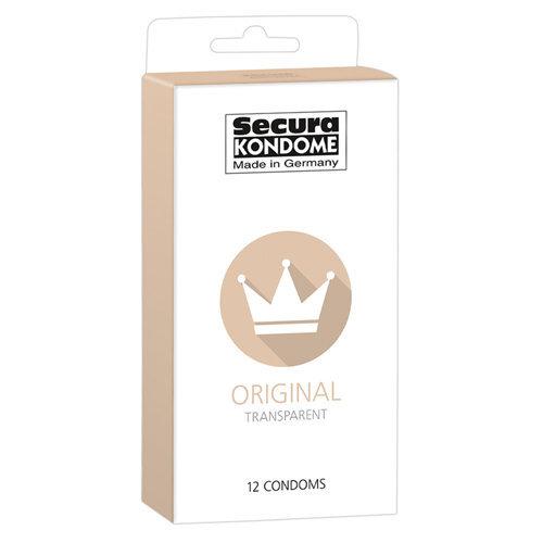 Original Condoms - 12 Pieces  Pharmacy Condoms - Secura Kondome