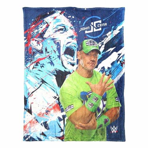 High Definition Super Soft Throws - WWE - John Cena - Splash  New 026015