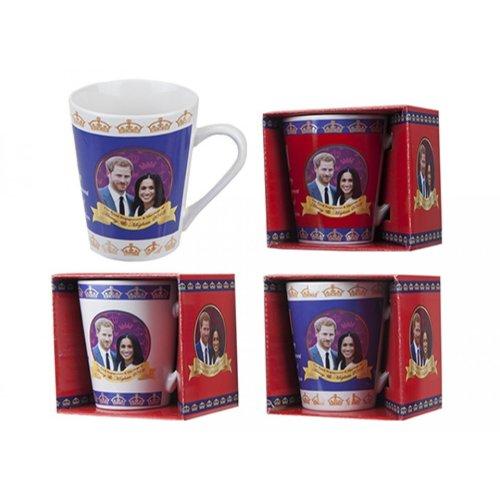 Royal Wedding V Shape Mug May 2018 Prince Harry Meghan Markle Souvenir Gift Cup