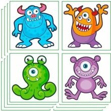 288 Monster Tattoos