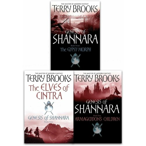 Genesis of Shannara Series Collection By Terry Brooks 3 Books Set