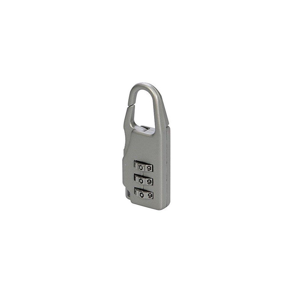 f82f1eb5fad9 Silverline Travel Combination Padlock 3-digit - 3digit 646204 Luggage Zinc  Alloy - combination silverline padlock travel 3digit 646204 luggage zinc