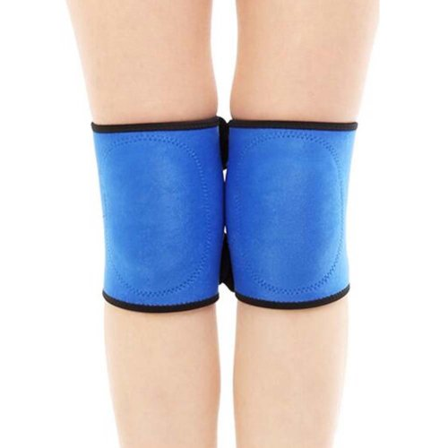 Sport Knee Compression Support Sleeve Knee Pads Knee Protector Brace(Pair), A