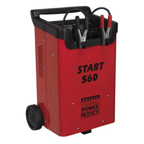 Sealey START560 Professional 560 Amp 12V or 24V Starter and Battery Charger