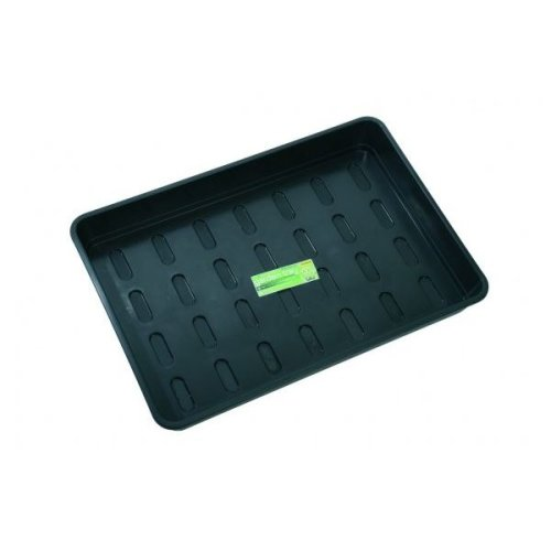 Xl Garden Tray Black Without Holes Home Planting Gardening